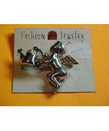 Angel pin &  Angel Ear rings--Pierced Ears - $9.00