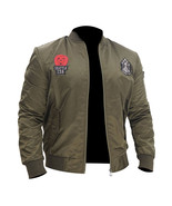 US Army MA-1 Green Military Tank Flight Bomber Motorcycle Air Force Bike... - $84.00