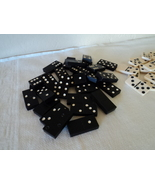 Classic Dominoes Black and White and White and Black - $13.99