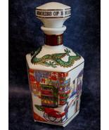 Hong Kong Coronation Napoleon French Brandy Decanter Vintage Souvenir Co... - $49.95