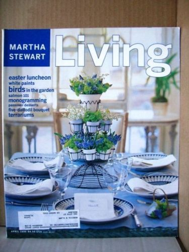 Martha Stewart Living Magazine,April 1998