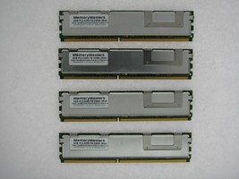 NOT FOR PC! 16GB 4x4GB PC2-5300 ECC FB-DIMM Dell PowerEdge 1950 Server TESTED