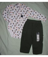 Sonoma Size 18 mo. Holiday Reindeer Turtleneck Onesie and Pants NWT - $15.99