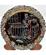 Fenton Carnival Glass Commemorative No.5 Plate Annual Series Of Collecto... - $22.76