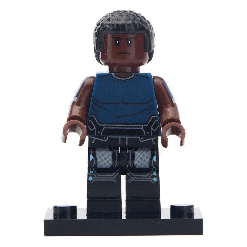 James Rhodes Marvel Universe War Machine Iron man Lego Minifigures Toy Gift