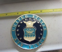 Air Force Belt Buckle - Blue Enamel - $18.95