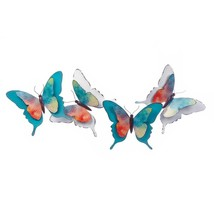 Wall Decorations, Modern Metal Watercolor Butterfly Decorative 3d Wall D... - €51,07 EUR