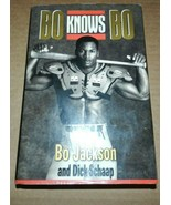 1990 BO KNOWS BO SIGNED BOOK BY BO JACKSON & DICK SCHAAP - $9.90