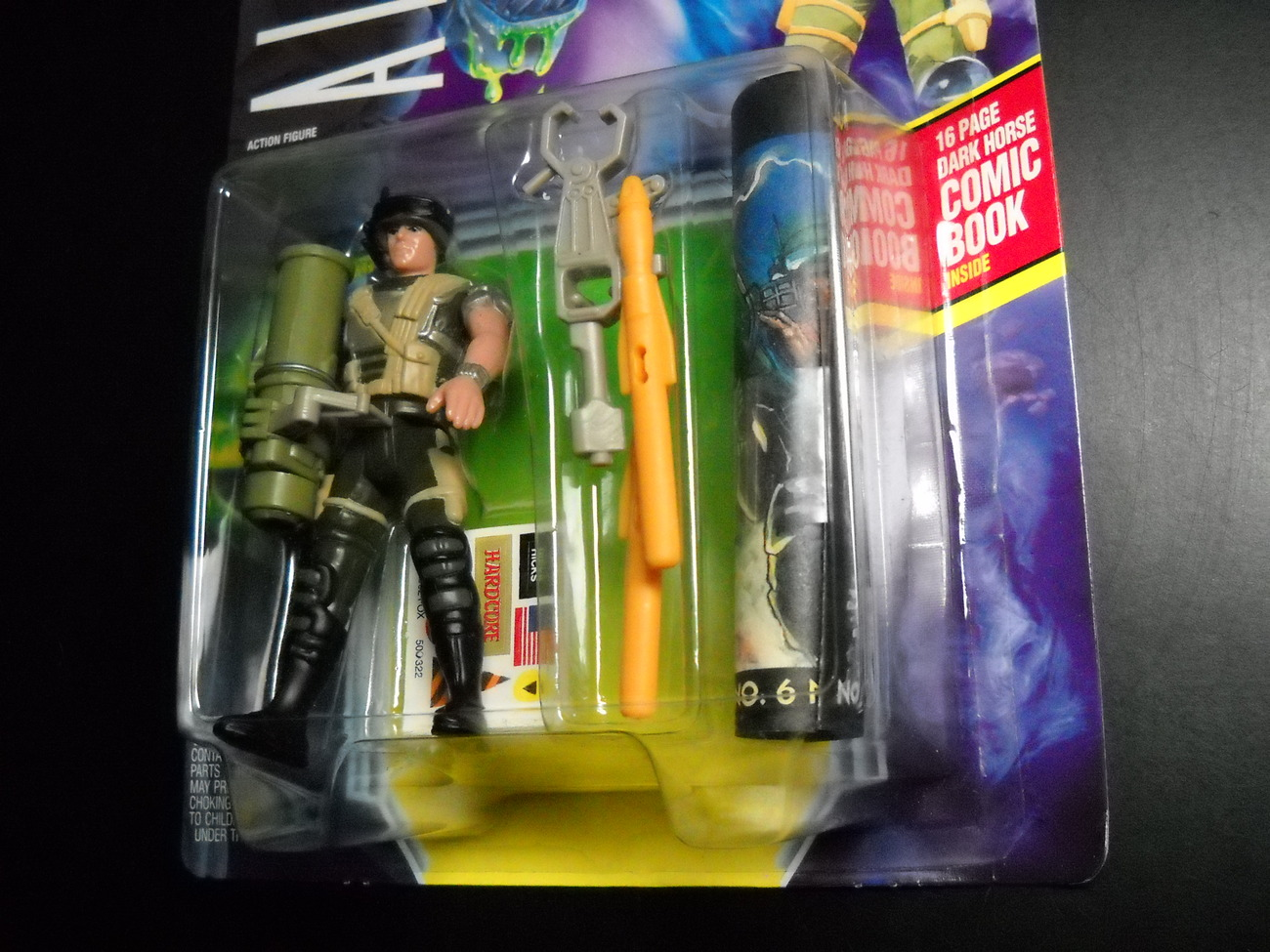 Kenner Aliens Corp Hicks Space Marine 1992 Still Factory Sealed with Comic Book