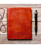 Taurus Zodiac Handmade Leather Journal - $43.00