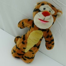 Vintage Tigger Sears Plush Winnie The Pooh Disney Stuffed Animal Red Nose - $19.79