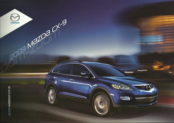 Primary image for 2009 Mazda CX-9 sales brochure catalog 09 US Sport Grand Touring