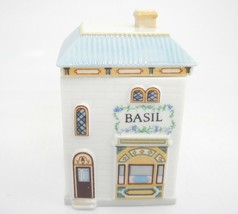 Lenox Spice Village Basil Jar Figural Porcelain House 1989 Replacement Exc - $14.84