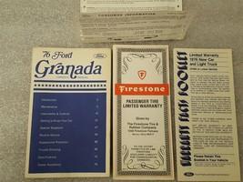 1976 GRANADA Owners Manual Set 15871 - $16.78