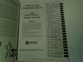 1985 dodge ramcharger dw 150 250 350 diesel truck workshop service repai... - $59.74