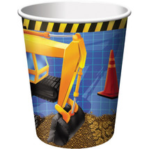 9 oz Hot/Cold Paper Cups Under Construction/Case of 96 - $52.59