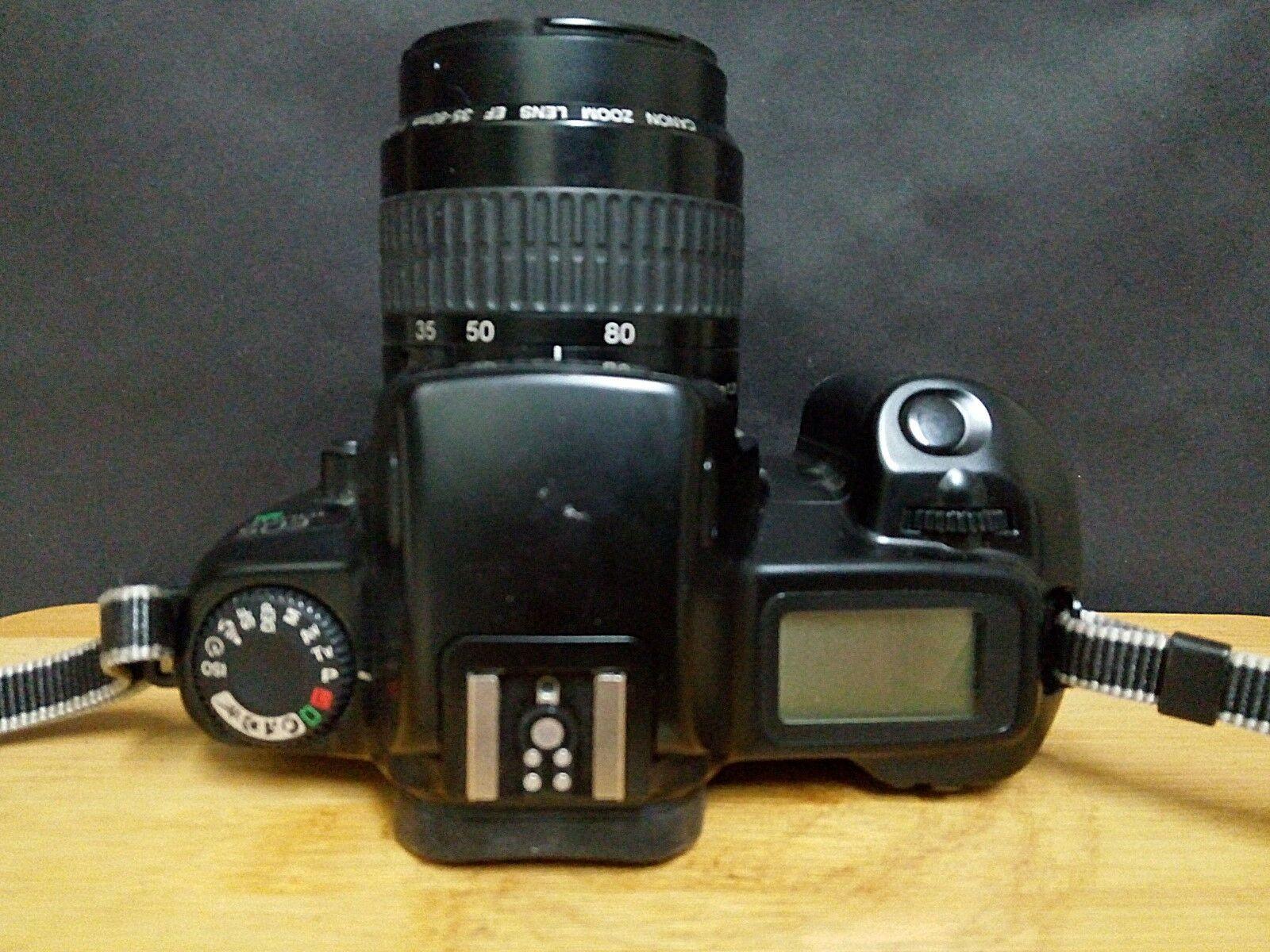 CANON EOS 1000F + Canon zoom lens EF 35-80mm 1:4-5.6 I