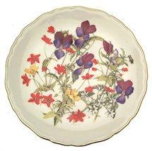 Bradford Exchange Royal Albert Grassland Pansies from Britains Wild Flowers Jo H - $31.85
