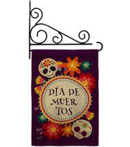 Celebrate Dia de Muertos Burlap - Impressions Decorative Metal Fansy Wall Bracke - $33.97