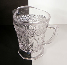 Imperial Cape Cod Large Pint Pitcher Milk Cream Elegant Crystal Retired - $16.78