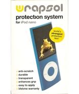 Wrapsol iPod nano Rectangle Clear Protective Film Kit - $4.99