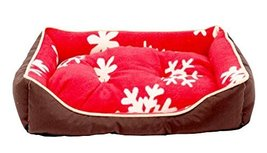 Fashion Pet Bed Washable Pet Nest Cat Bed Dog House S - Red - $22.76