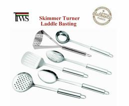 Stainless Steel Kitchen Utensil Set Cooking Tools Basting Skimmer Turner... - $9.77 CAD+