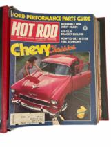 Vtg Jan-Dec 1981 Lot Bound Hot Rod Magazine High Performance Cars 1969 Binder image 9