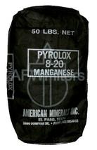 Pyrolox filter media 1/2 cu. ft. bag iron & sulfur media - $119.00