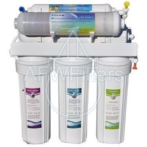 6-Stage Alkalinity Reverse Osmosis (RO) Drinking Water Filter System w/ Apter... - $329.00