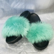 UGG Emerald Green Sheepskin Slide Sandal/Slipper, ROYALE-1018875, Women ... - $79.00
