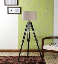 Nauticalmart Classical Designer Floor Lamp Vintage Wooden Tripod - $143.55