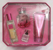 Victoria's Secret BOMBSHELL Eau De Parfum,Shimmer Oil, Wash, Scrub Fragrance Set image 7