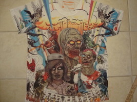 Truth thetruth.com Doomsday Scenario Anti Smoking Soft Thin T Shirt L xl - $20.78