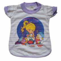 Vintage Rainbow Brite Toy Doll Size Shirt Pajamas Hallmark Bates Jama 1980s - $23.19