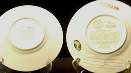 Golden 25th Anniversary Plate (Pair) AA20-2083 Vintage image 4