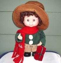 Christmas Animated Girl Doll Display Collector Item - $35.00
