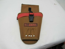 U.S. General Drill Holder Tool Belt Pouch, Nevery Used, Canvas - $14.80
