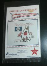 New Hampshire Creative Keepsakes Cross Stitch Kit American Heritage State - $7.84
