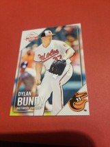 Dylan Bundy 2019 Baltimore Orioles Topps National Baseball Card Day #5 - $3.96