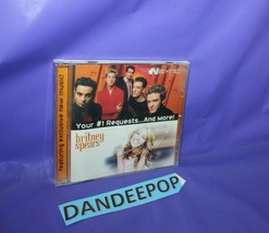 N Sync And Britney Spears Your #1 Requests And More Music Cd - $7.91