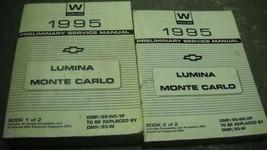 1995 Chevy Monte Carlo Lumina Service Reparatur Werkstatt Shop Manuell Set - $32.61