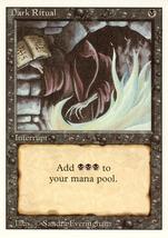 Magic: The Gathering 3rd Edition - Dark Ritual - $0.50