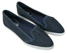 Michael Kors Plat Àenfiler Chaussures Olive Toile Jeans Femmes Taille UK... - $113.35