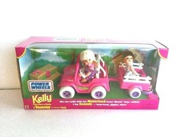 Kelly & Tommy Power Wheels by Fisher-Price & Mattel, Motorized With Soun... - $58.95
