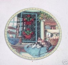 Knowles Cozy Country Corners: Lazy Morning Collector Plate - $38.89