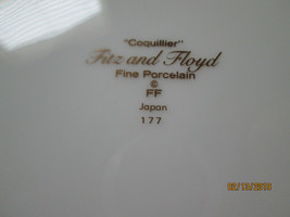 Fitz & Floyd Coquillier 5 piece place setting motif C - $49.45