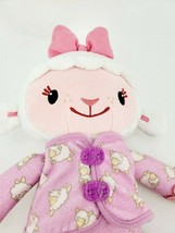 Disney Doc McStuffins Bedtime Nap Sleepy LAMBIE Plush Doll  PJs Talking ... - $15.47