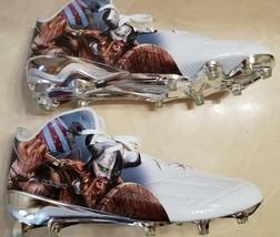 newest c739f c28d3 NWOT Adidas Size 18 Football Cleats 5 Star Uncaged Viking Warrior Adizero -   29.99