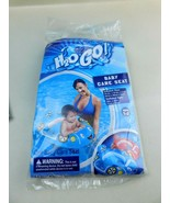 H2O GO! Baby Care Pool Seat  Float Floatie Blue Car Ages 1-2 New - $5.93